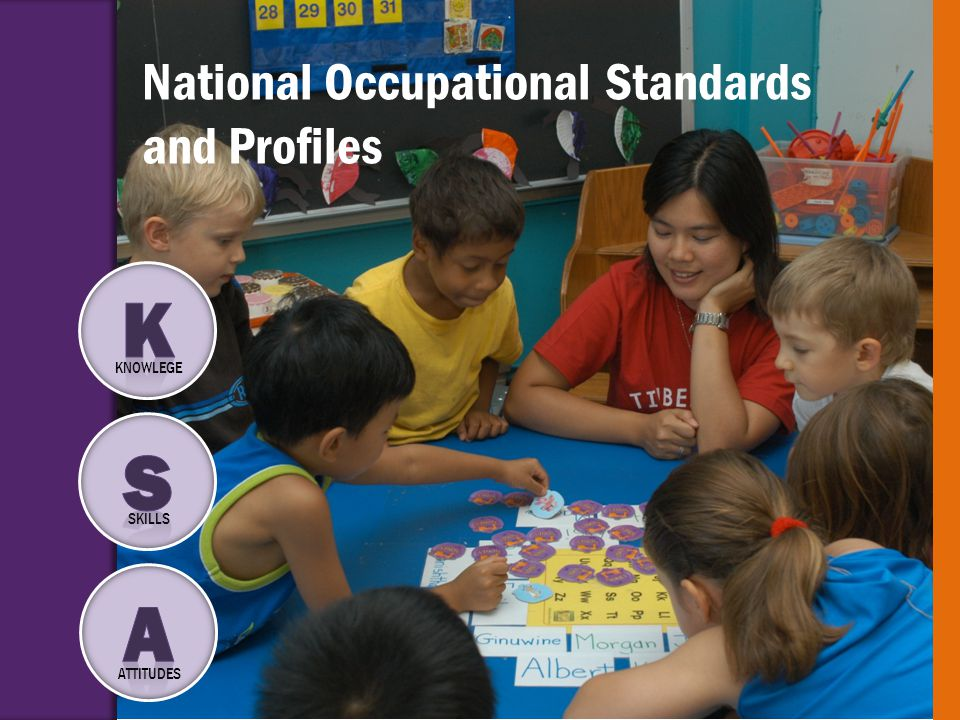National Occupational Standards and Profiles KNOWLEGE SKILLS ATTITUDES