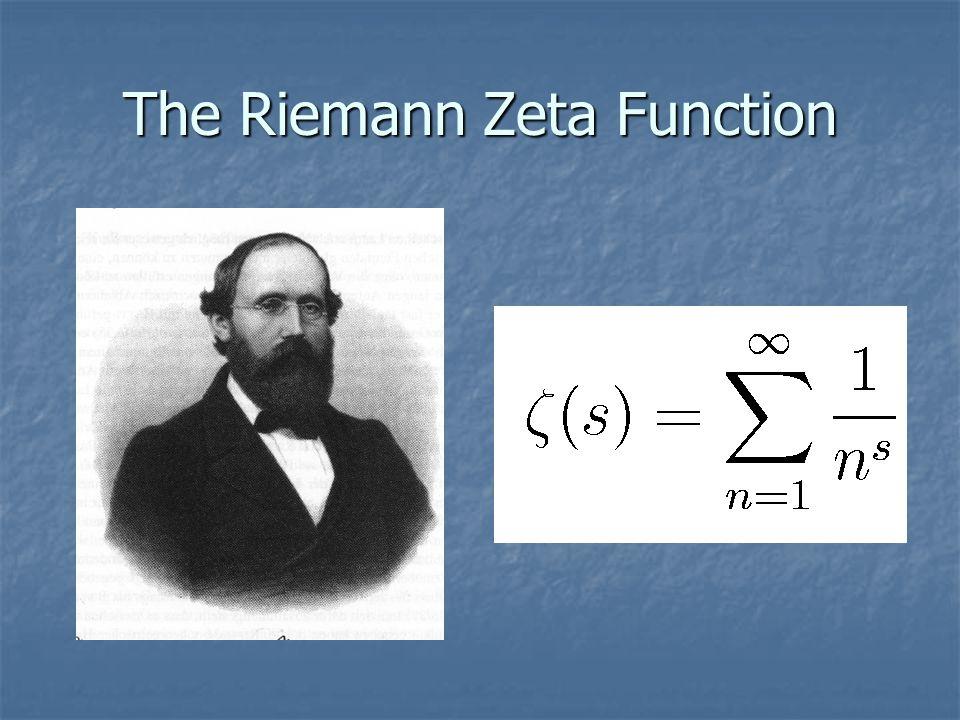 The Riemann Zeta Function