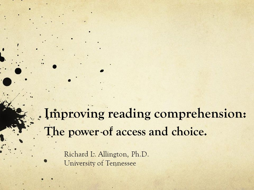 As kids spend more time in school the array of reading abilities broadens.