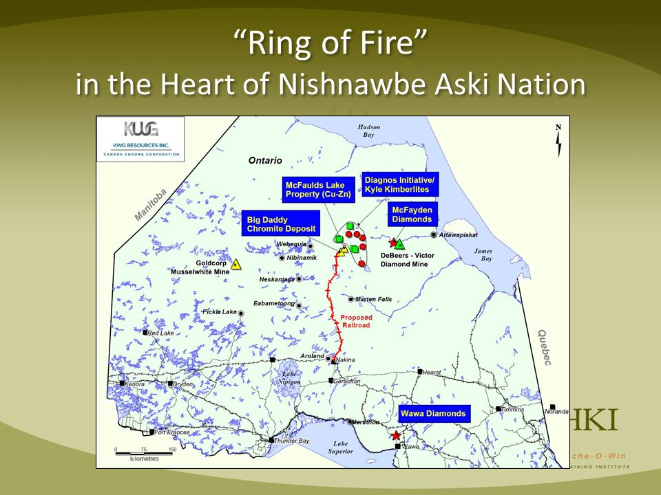 Ring of Fire in the Heart of Nishnawbe Aski Nation