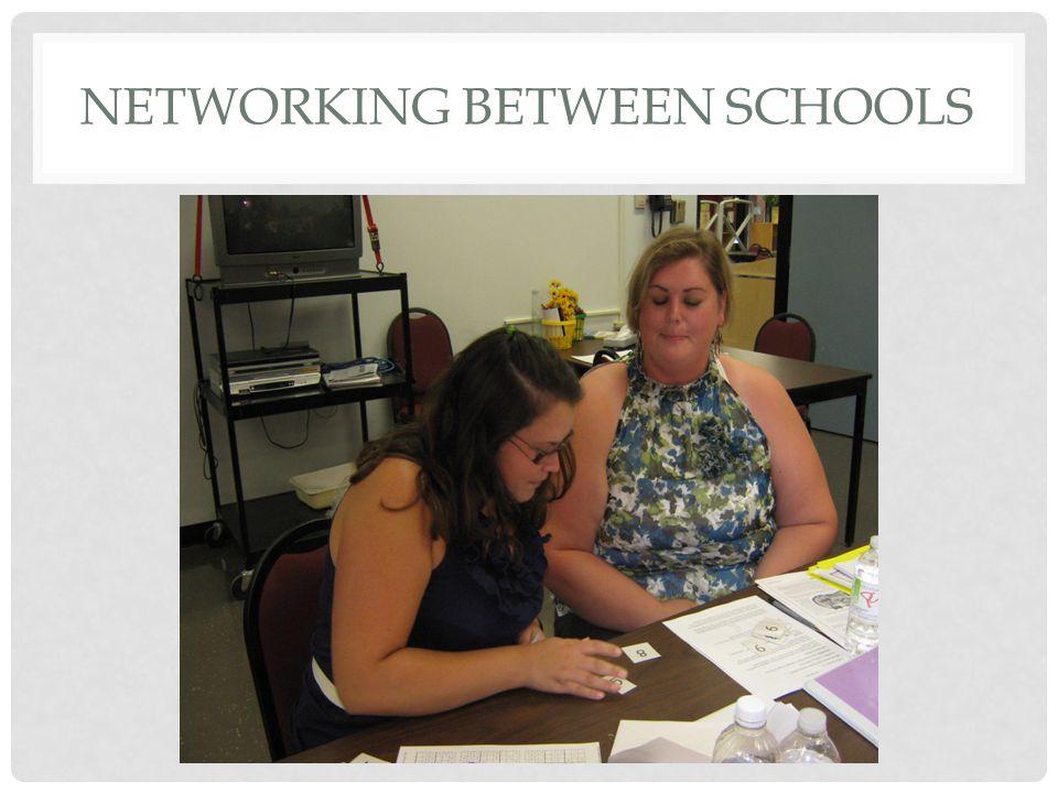 NETWORKING BETWEEN SCHOOLS