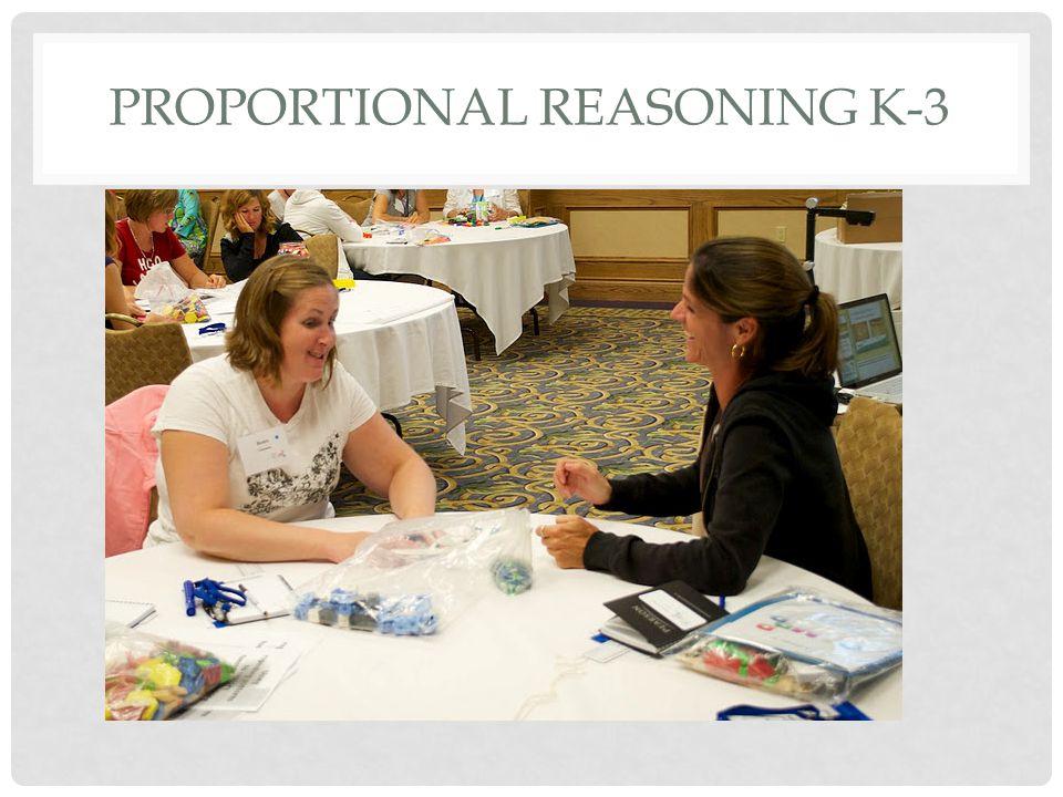 PROPORTIONAL REASONING K-3