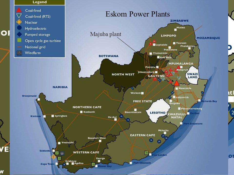 Eskom Power Plants Majuba plant
