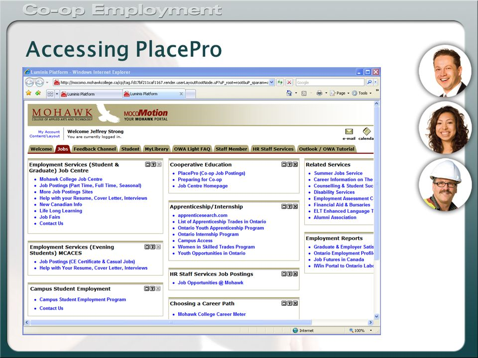 Accessing PlacePro