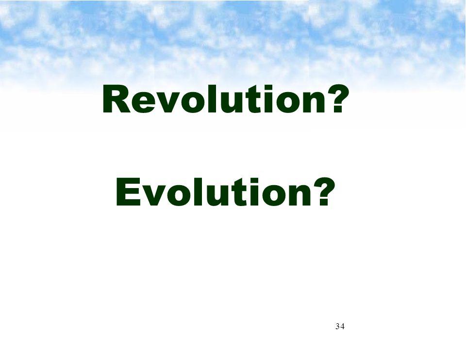 34 Revolution Evolution