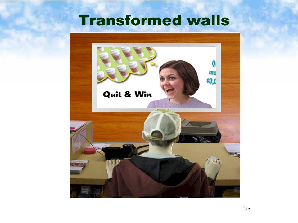 38 Transformed walls