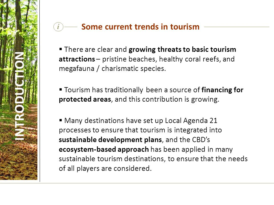  There are clear and growing threats to basic tourism attractions – pristine beaches, healthy coral reefs, and megafauna / charismatic species.  Tou
