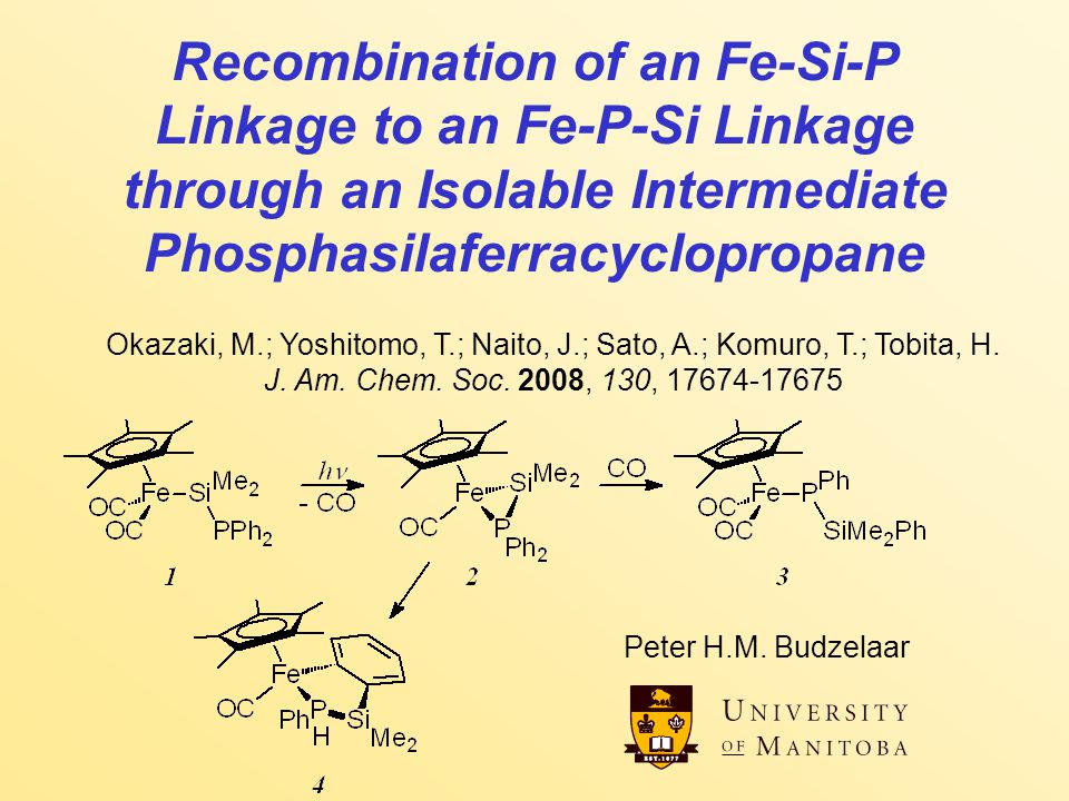 Fe-Si-P to Fe-P-Si 2 Recombination...What happens .
