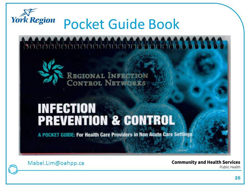 25 Pocket Guide Book Mabel.Lim@oahpp.ca