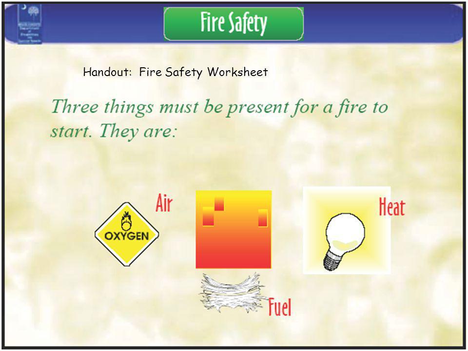 Handout: Fire Safety Worksheet