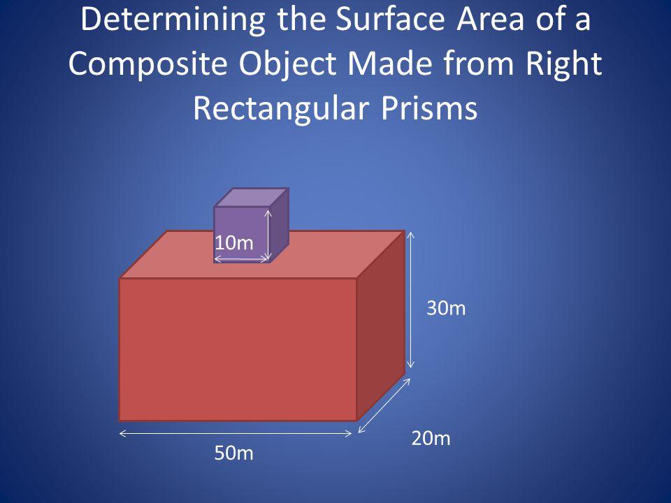 50 m 30 m 20 m 30 m 20 m 30 m 20 m 6 Squares, each have side length 10m