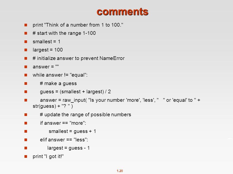1.20 comments print