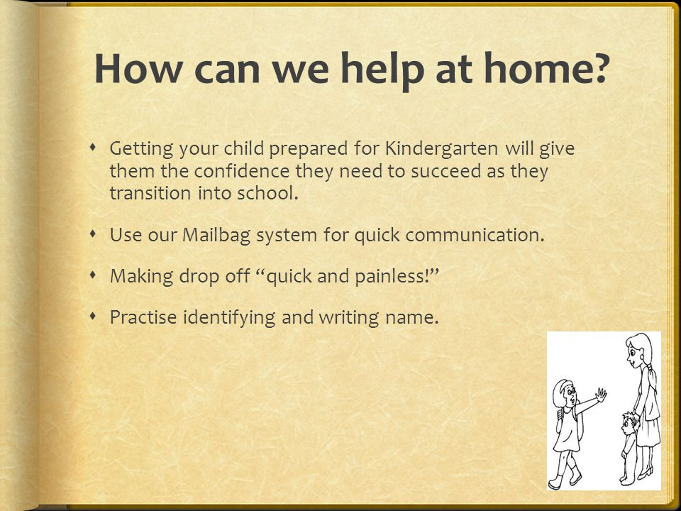 How can we help at home.