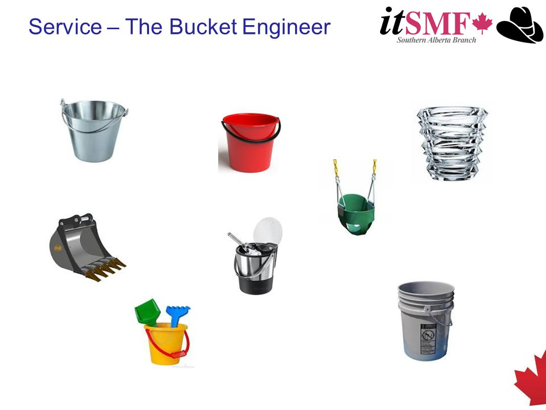 Service – The Bucket Engineer