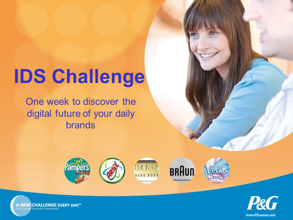 IDS Challenge One week to discover the digital future of your daily brands