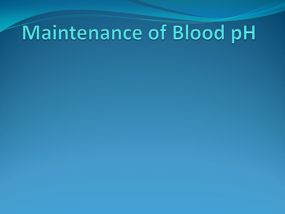 Blood pH The normal pH of blood is around 7.35, which is the optimal pH for the majority of enzymes in our body.