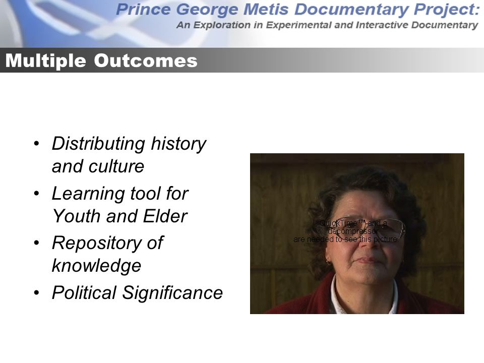Multiple Outcomes Distributing history and culture Learning tool for Youth and Elder Repository of knowledge Political Significance