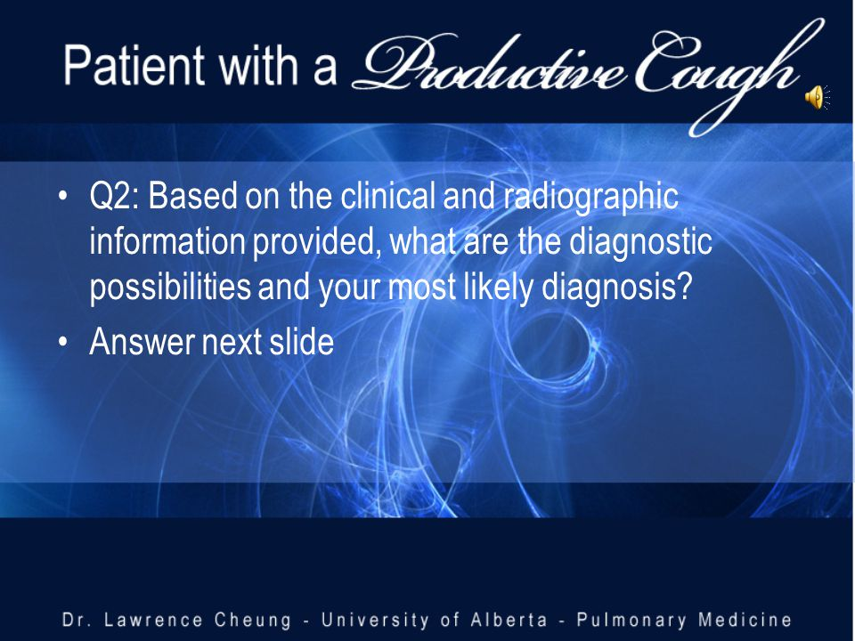 Q2: Based on the clinical and radiographic information provided, what are the diagnostic possibilities and your most likely diagnosis.
