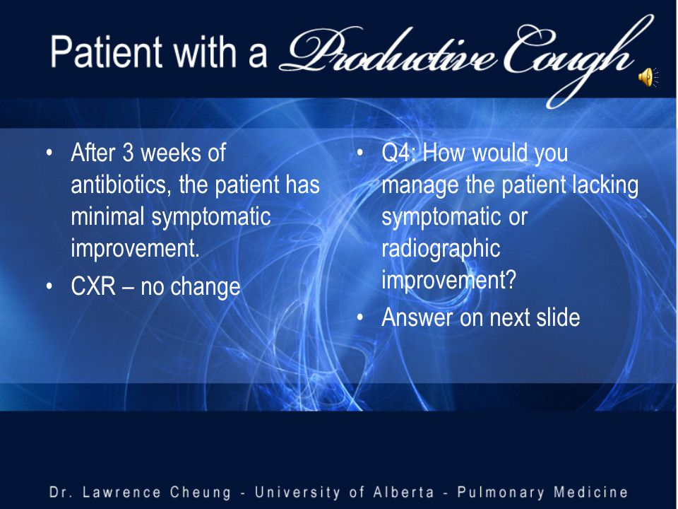 Q3: How would you manage this patient Answer (Q3)