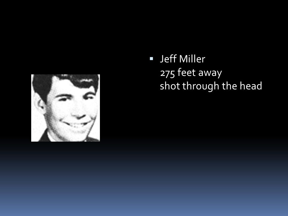  Jeff Miller 275 feet away shot through the head
