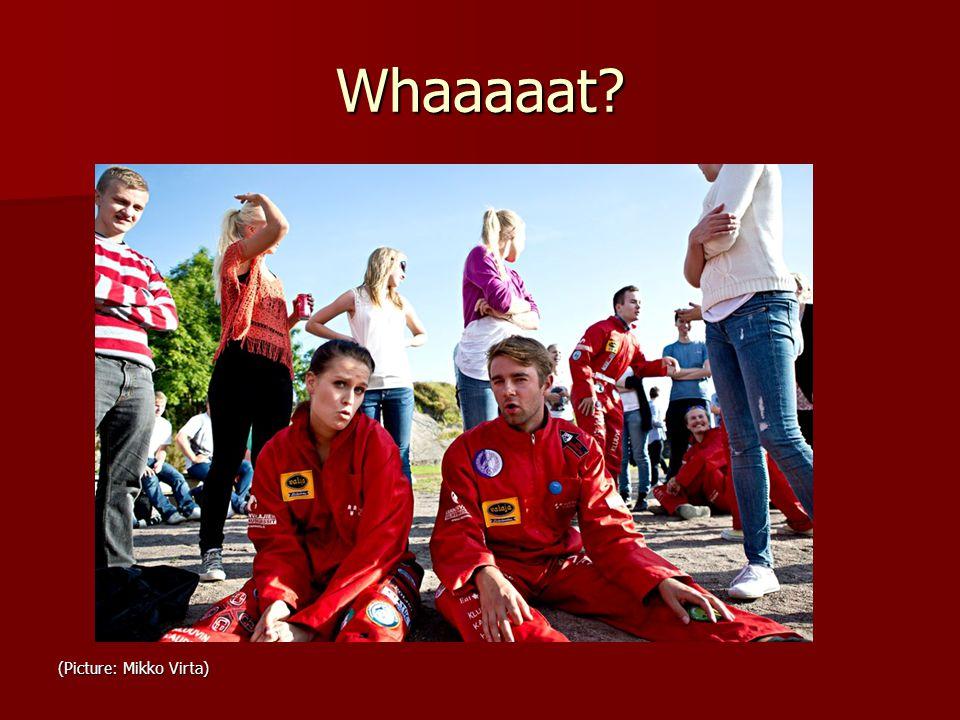 Whaaaaat (Picture: Mikko Virta)