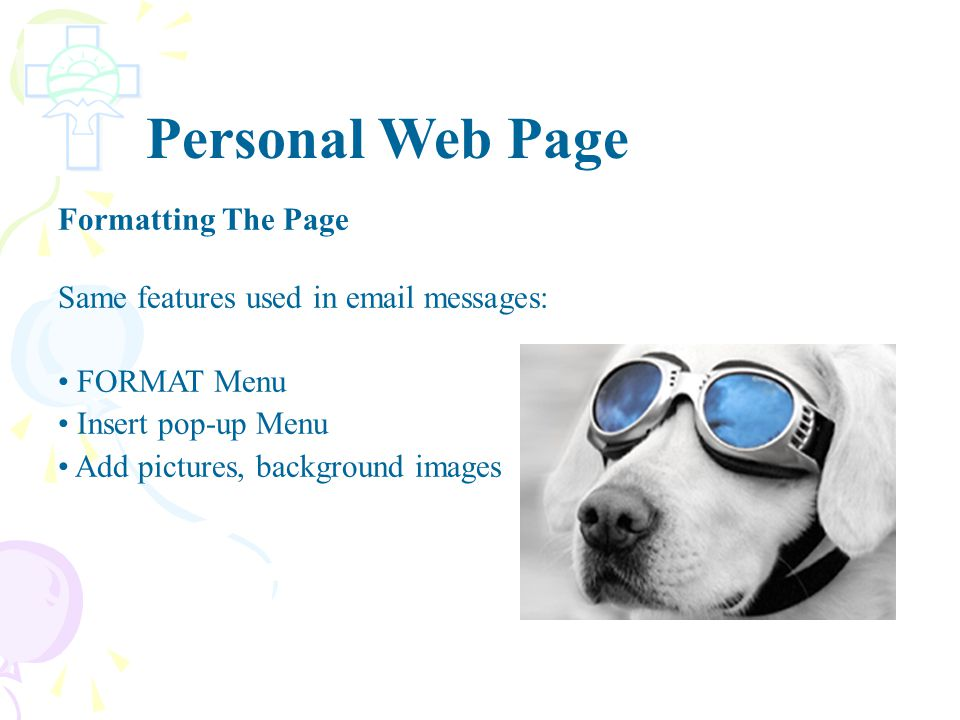 Placed a banner graphic in a folder named images--> http://fc.gsacrd.ab.ca/~dean_mckinney