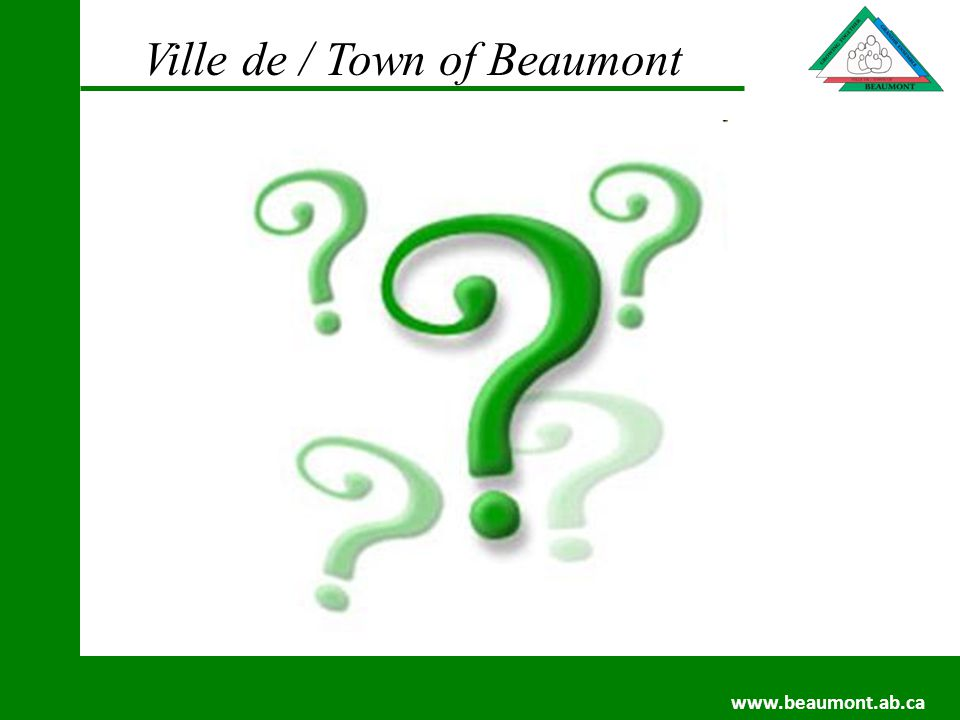 Ville de / Town of Beaumont