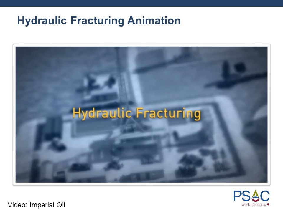 Hydraulic Fracturing Animation Video: Imperial Oil