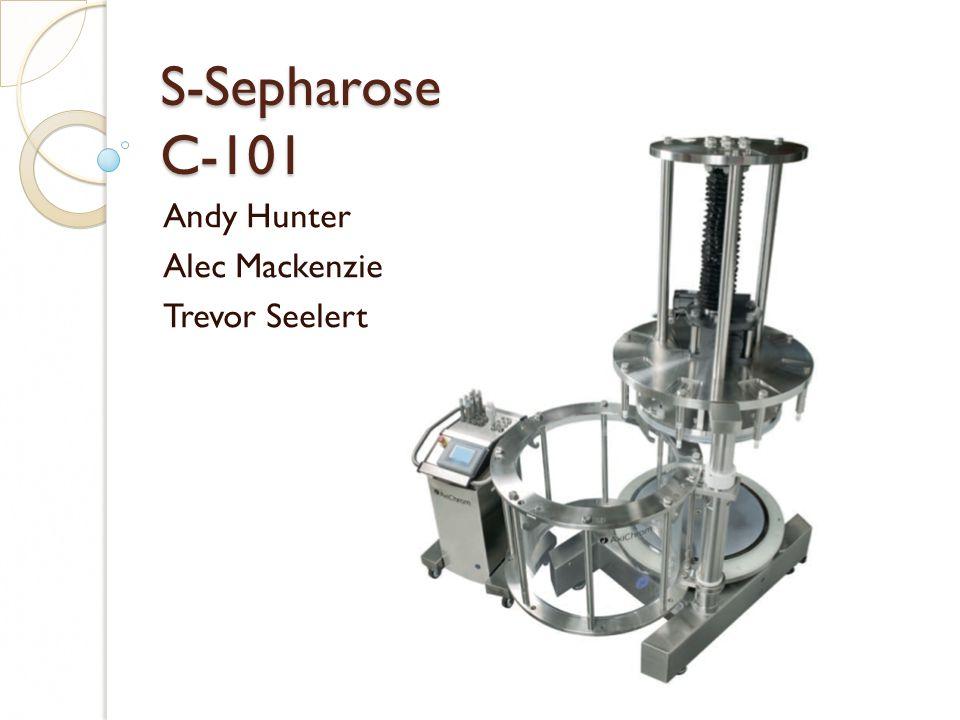 S-Sepharose C-101 Andy Hunter Alec Mackenzie Trevor Seelert
