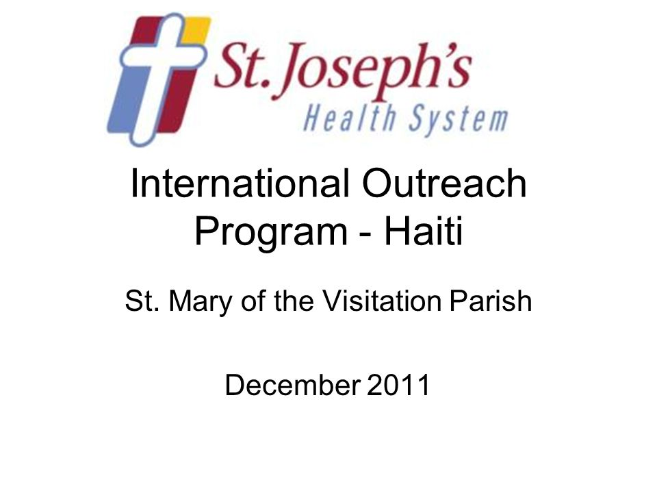 Prayer for the People of Haiti Loving God, through your Son Jesus, we are joined with the trials and sufferings of all.