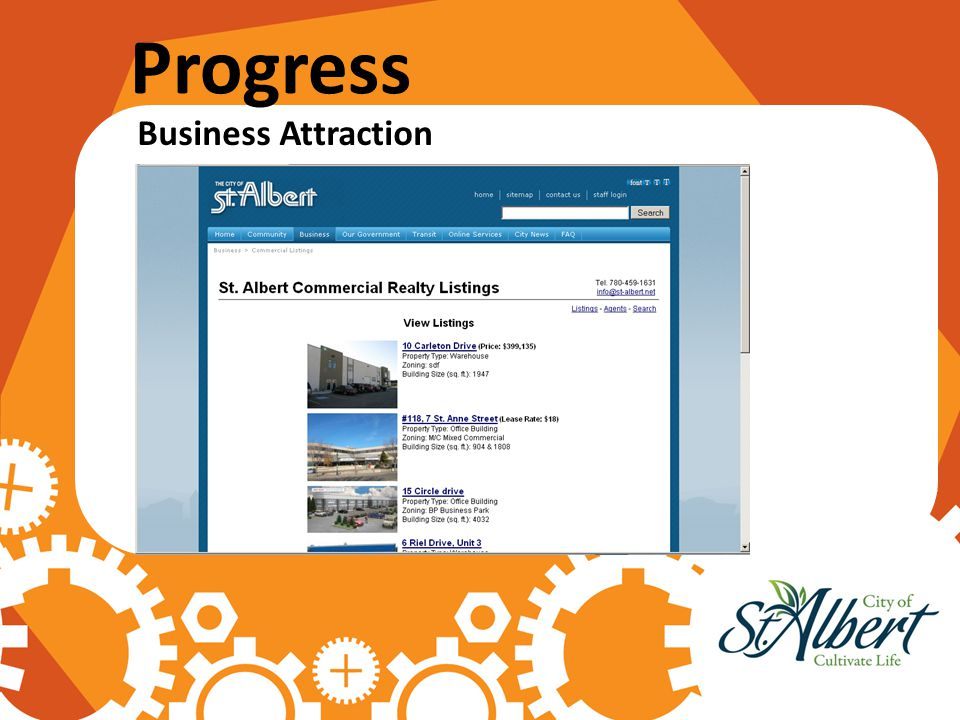 Progress Business Attraction