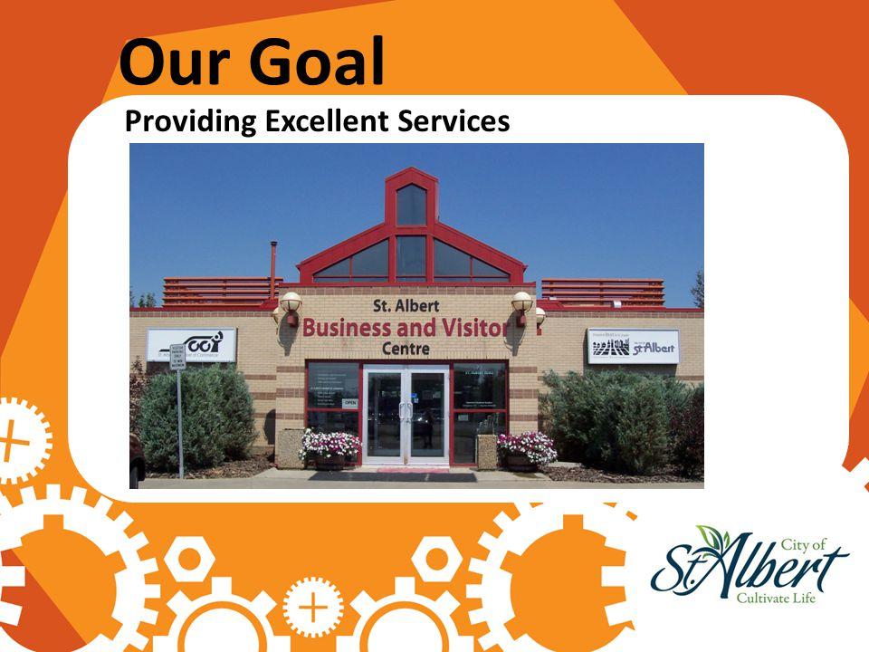 Our Goal Providing Excellent Services