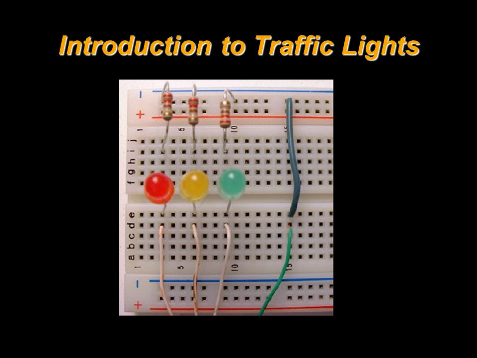 Introduction to Traffic Lights