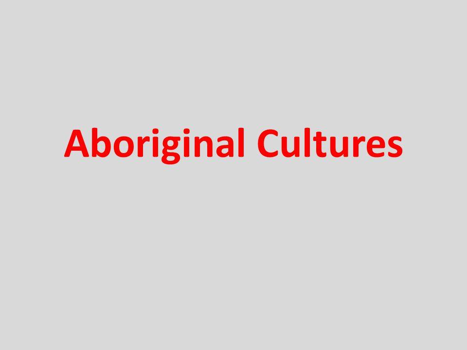Aboriginal Cultures