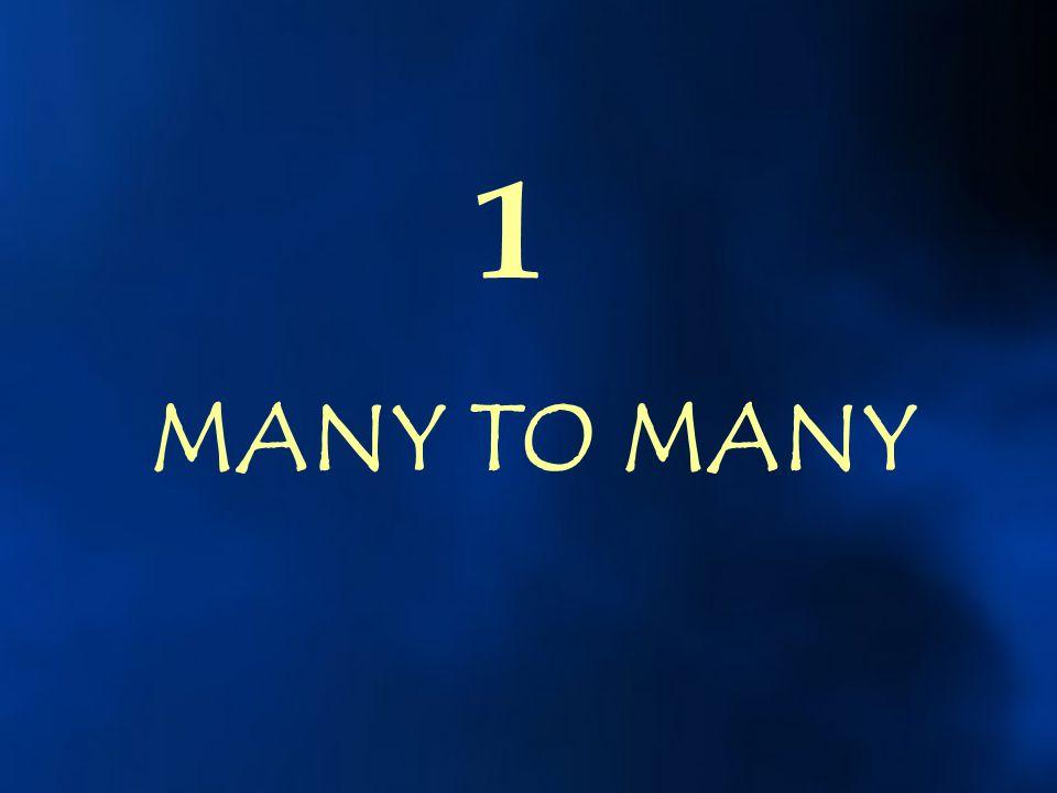 1 MANY TO MANY