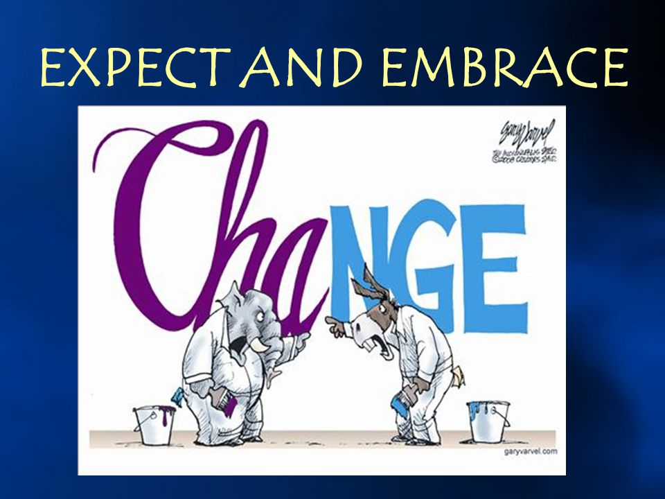 EXPECT AND EMBRACE