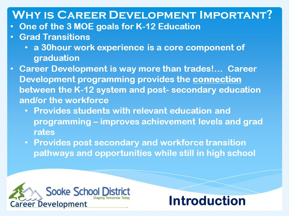Why is Career Development Important .