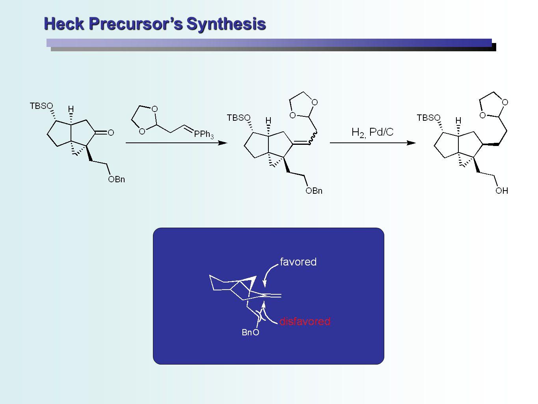 Heck Precursor's Synthesis