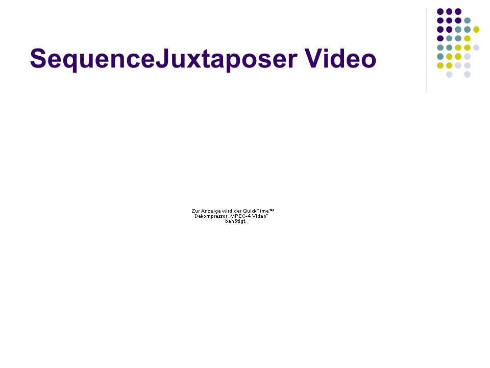 SequenceJuxtaposer Video
