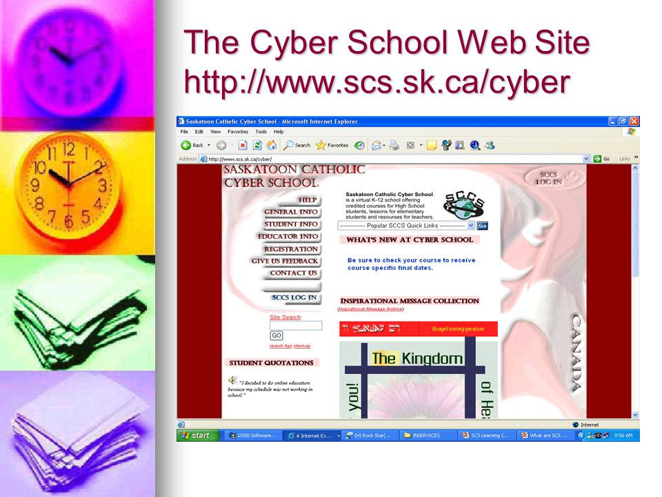 Scroll Down and Click SCCS Log In Click Here
