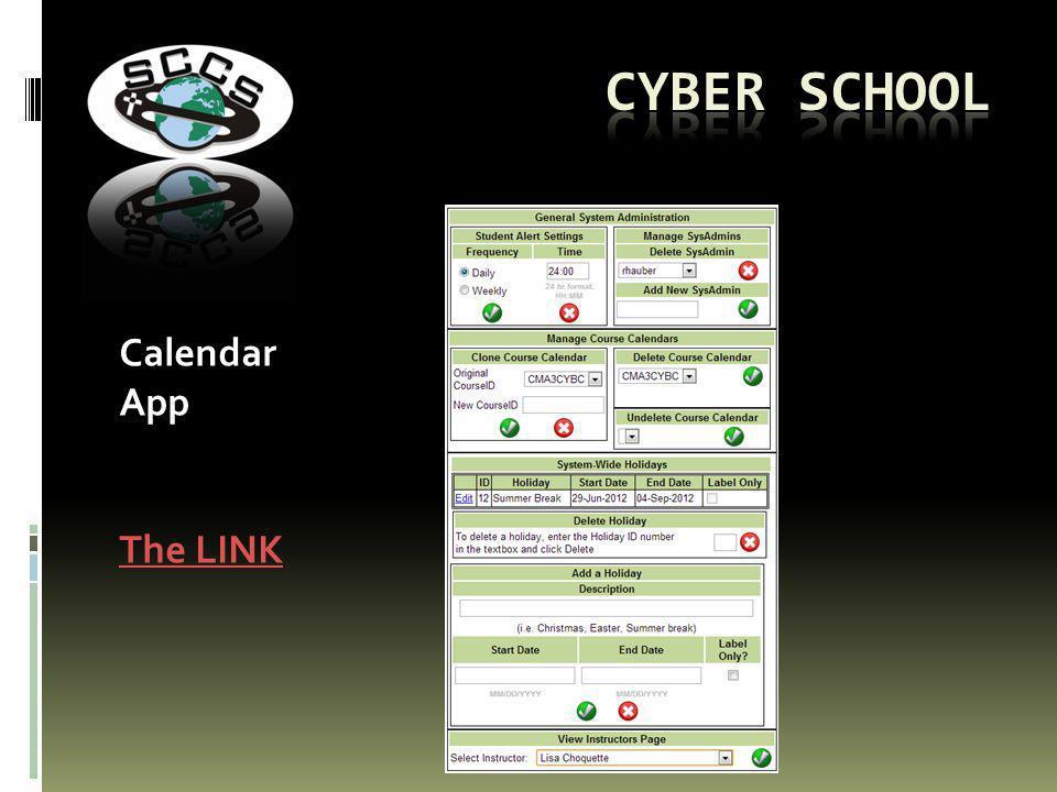 Calendar App The LINK