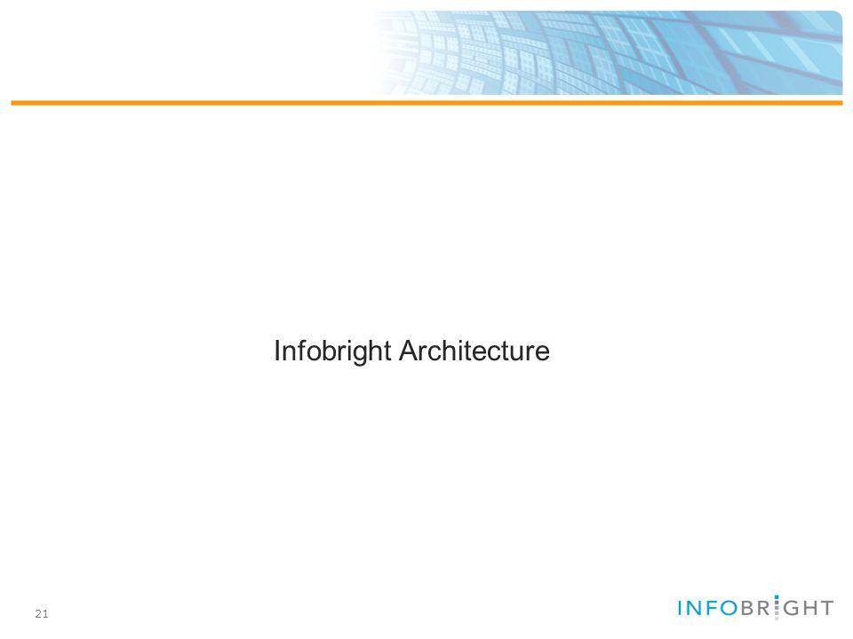 21 Infobright Architecture