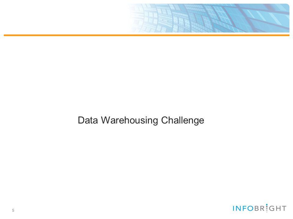 5 Data Warehousing Challenge