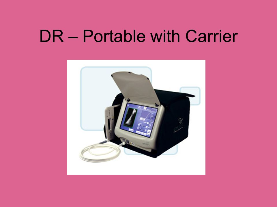 DR Portable System - IDEXX