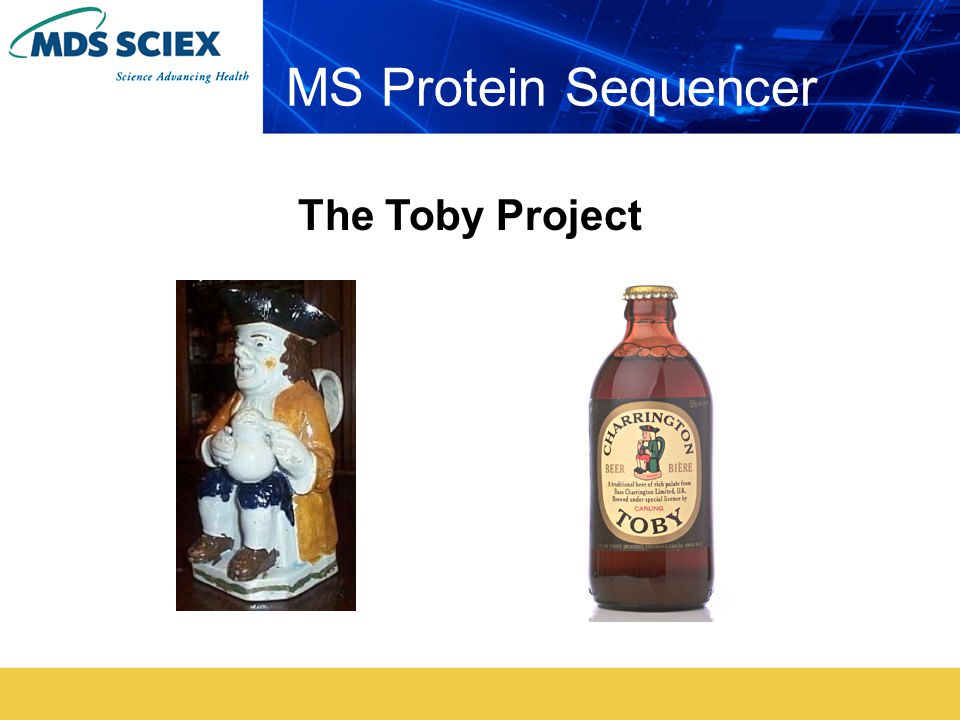 MS Protein Sequencer The Toby Project
