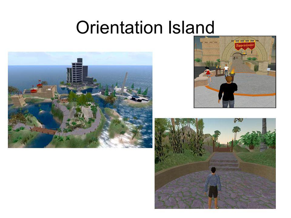 Orientation Island
