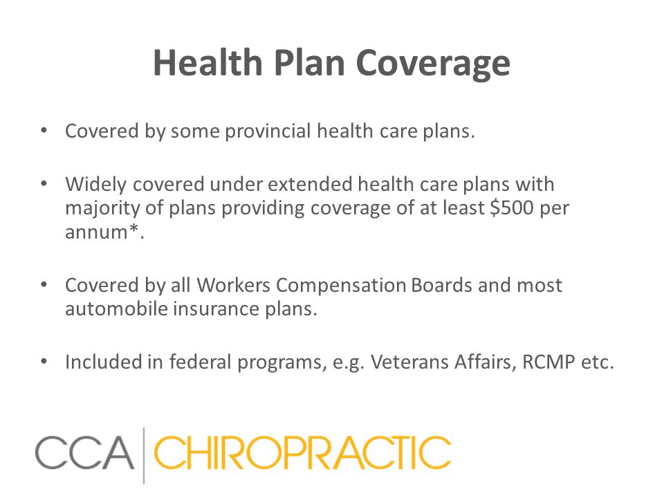 Chiropractic & WCB All provincial Worker Compensation Boards utilize chiropractic to treat injured workers.