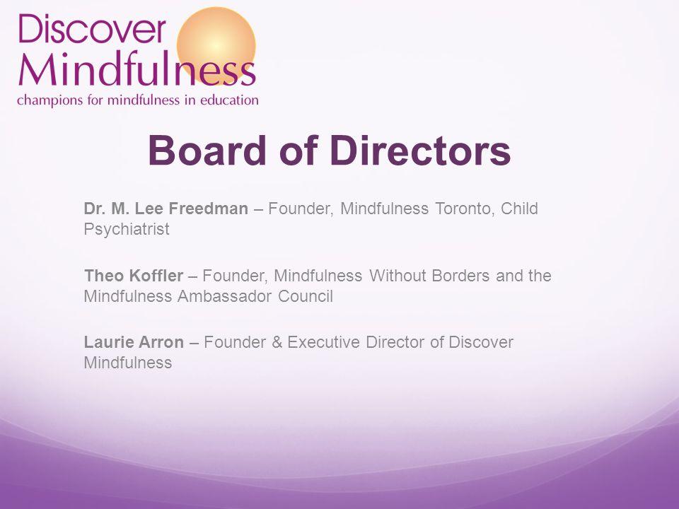 Board of Directors Dr. M.