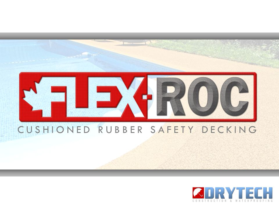 FlexRoc rubberized surfaces are thick, cushioned, safe, non-toxic and incredibly durable rubber safety-decking systems designed for a broad variety of applications.