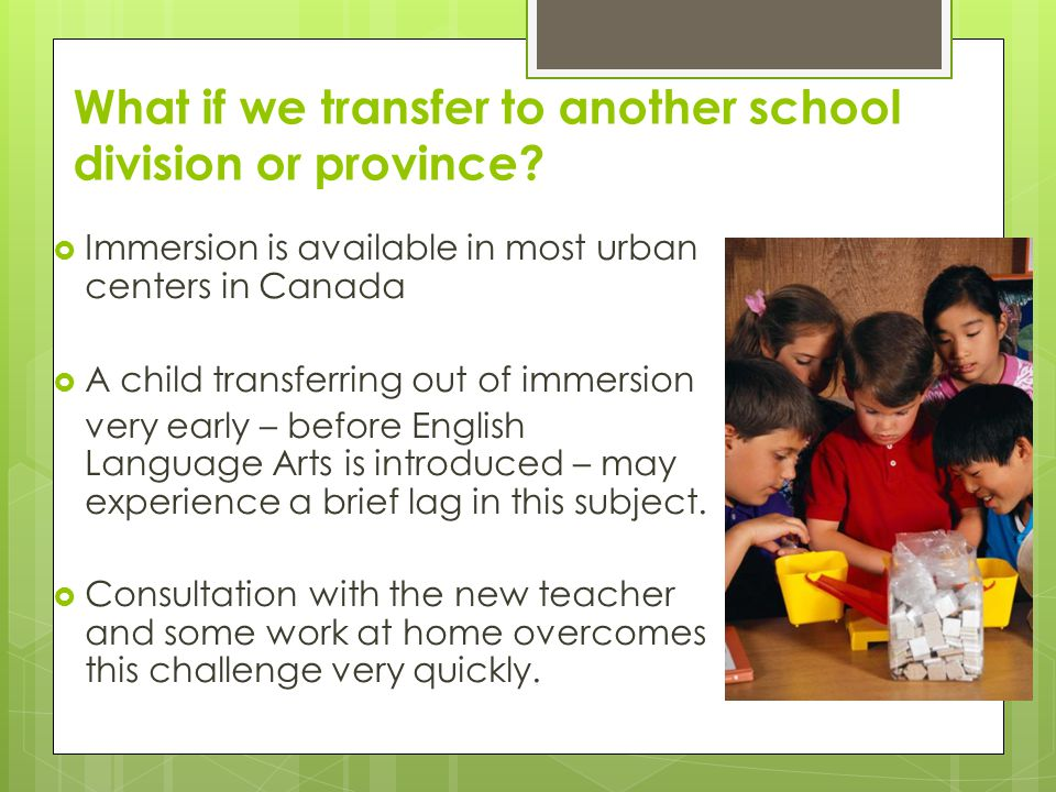 What if we transfer to another school division or province.